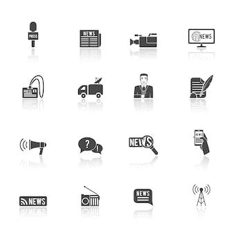 Pressione ícones