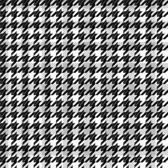 Preto padrão houndstooth