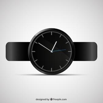 Preto relógio