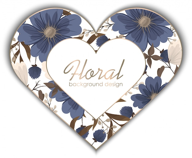 Primavera flor pensionista flor azul