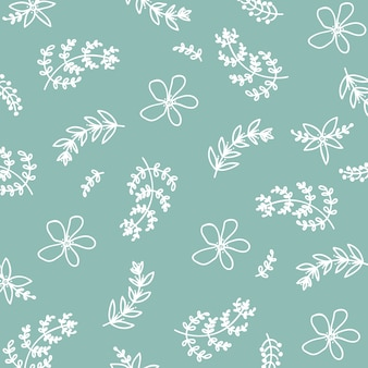 Primavera verão floral pattern