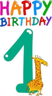 Primeiro aniversário de aniversário