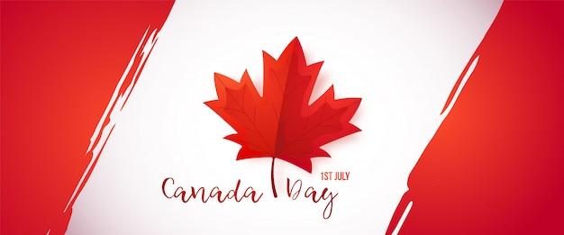 Primeiro de julho, dia do canadá.