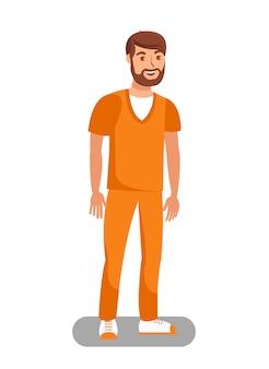 Prisioneiro libertado no bail flat