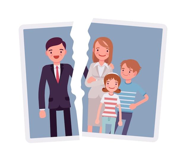 Problema de separação familiar