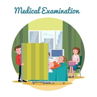 Procedimento de diagnóstico de ultrassom médico