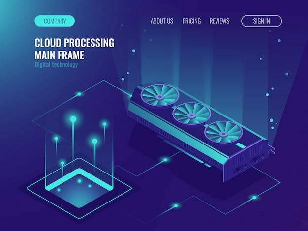 Processamento de dados, poder de computação, serviço de mainframe, fluxo de dados
