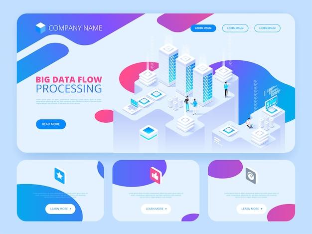 Processamento isométrico de fluxo de big data