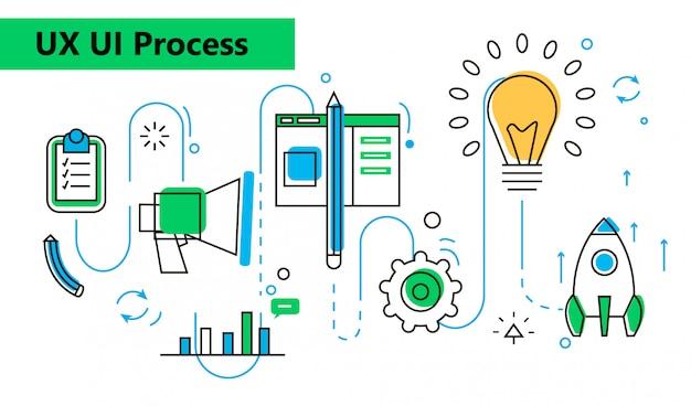 Processo de design da ideia através do conceito