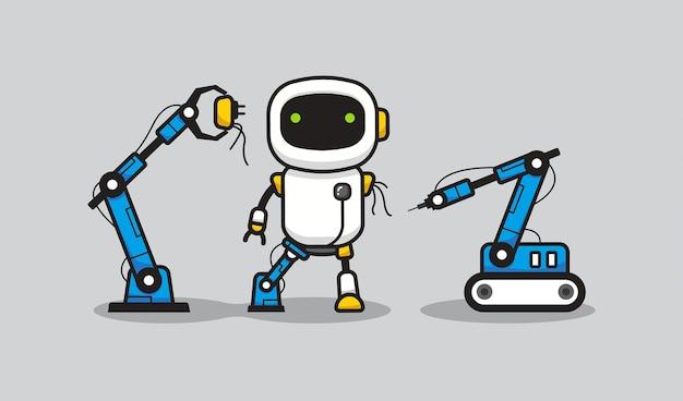 Processo de fabricação de robôs