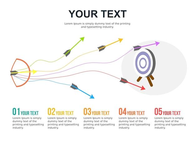 Processo de foco de desenvolvimento lucro comercial inteligente apresentação de powerpoint infográfico