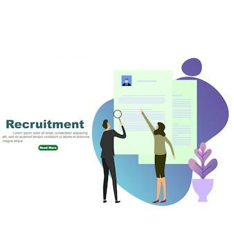 Processo de recrutamento