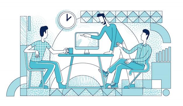 Processo de trabalho dos gerentes executivos
