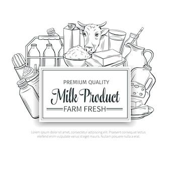 Produção de leite.