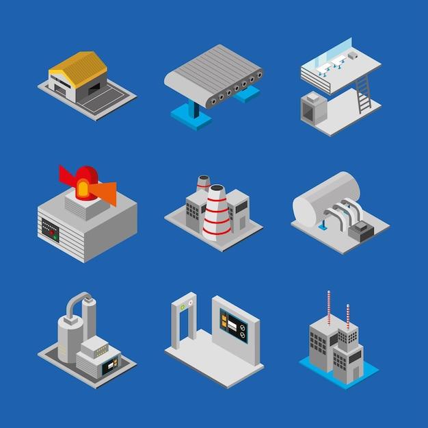 Produção de máquinas industriais