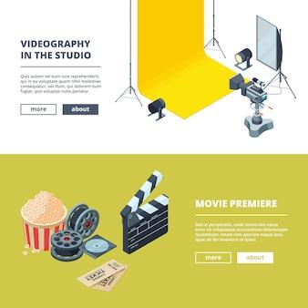 Produção de vídeos e fotos.