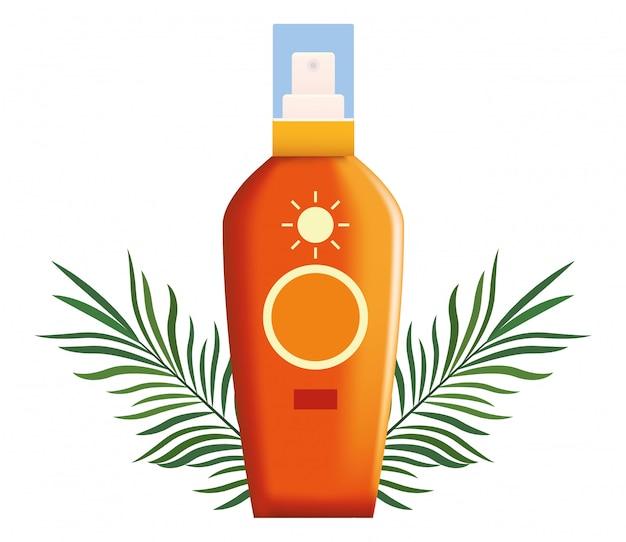 Produto cosmético de bronzeador de sol