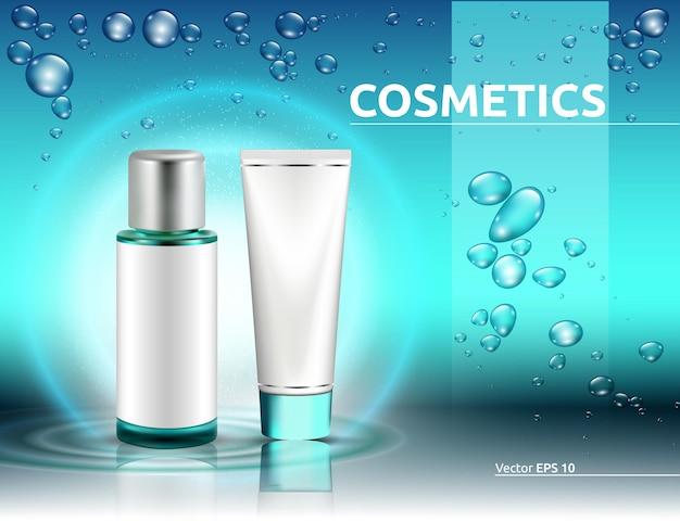 Produto de embalagem para cosméticos de hidratação