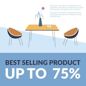 Produto mais vendido até promoção percentual
