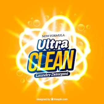 Produto ultra limpo para lavanderia