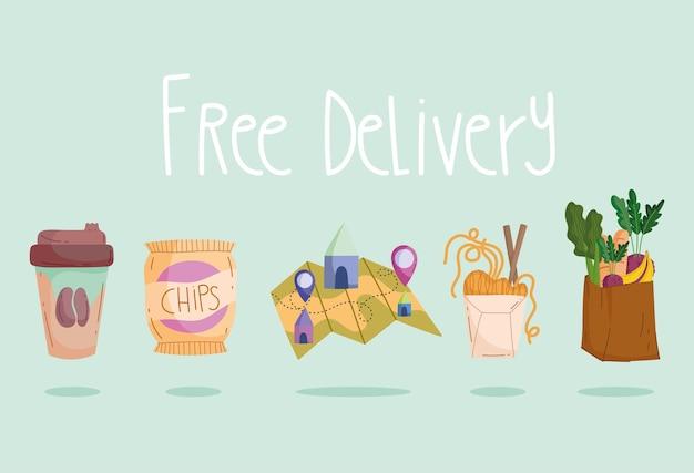 Produtos com entrega gratuita