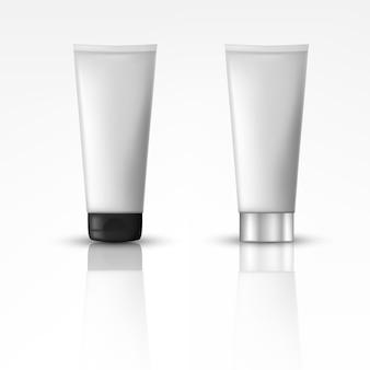 Produtos cosméticos com tampa diferente