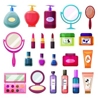 Produtos de beleza e cuidados com a pele feminina