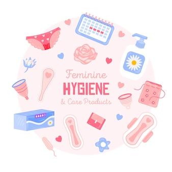 Produtos de higiene feminina