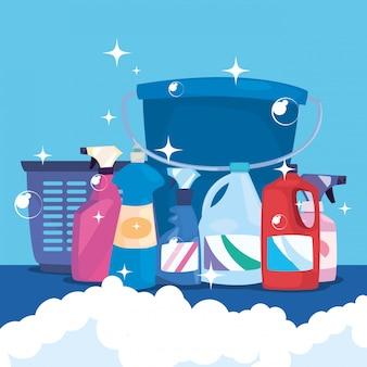 Produtos de limpeza e suprimentos