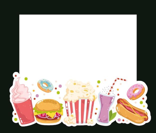 Produtos de restaurante fast food