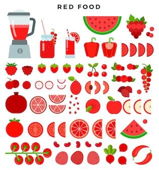 Produtos dietéticos vegetarianos crus