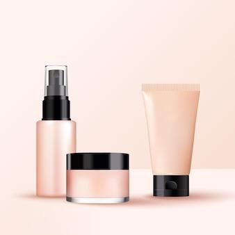 Produtos diferentes sem conjunto de embalagem