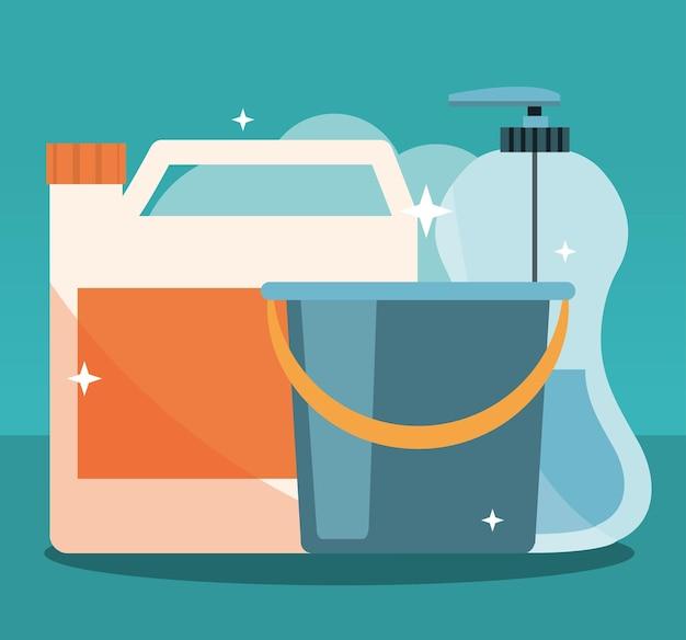 Produtos para equipamentos de limpeza