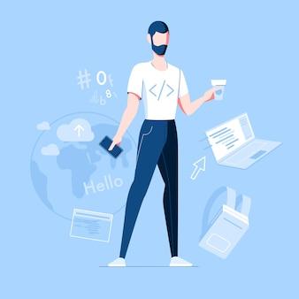 Profissão mobile developer programador php