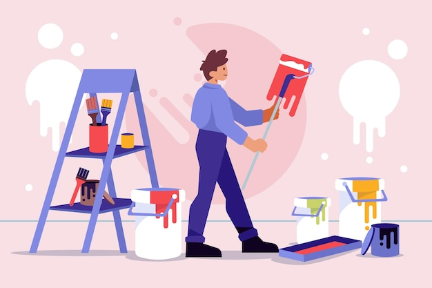 Profissões domésticas e de renovação