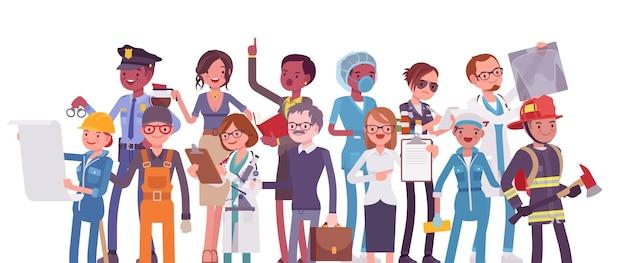 Profissões, empregos, escolhendo uma carreira