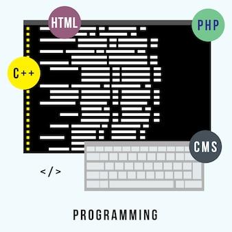 Programação de conceito de negócios