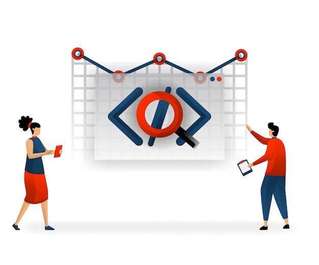 Programação e codificação determinam o tráfego no site