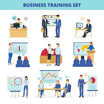 Programas de treinamento em negócios e institutos de consultoria para liderança e inovação eficazes