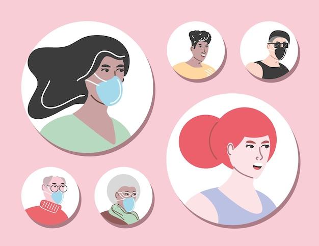 Proibição de estar sem máscara