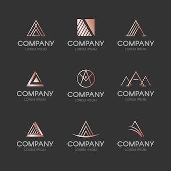 Projete uma coleção de logotipo