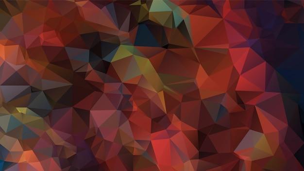Projeto abstrato do fundo do polígono, estilo geométrico de origami com inclinação