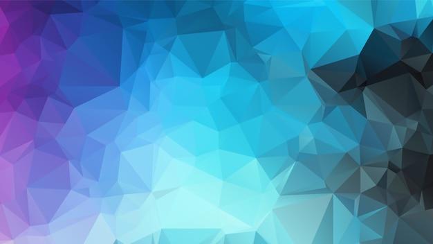 Projeto abstrato do fundo do polígono