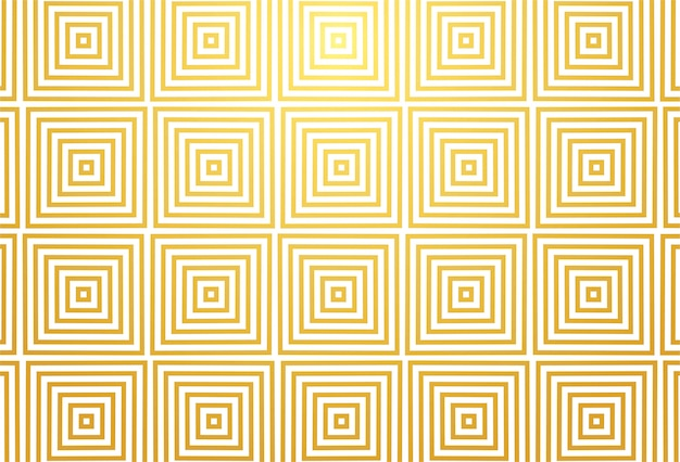 Projeto abstrato geométrico padrão dourado