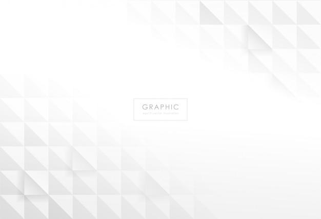 Projeto abstrato geométrico retângulo em fundo branco e cinza.