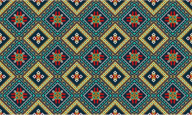 Projeto abstrato padrão geométrico étnico para plano de fundo ou papel de parede.