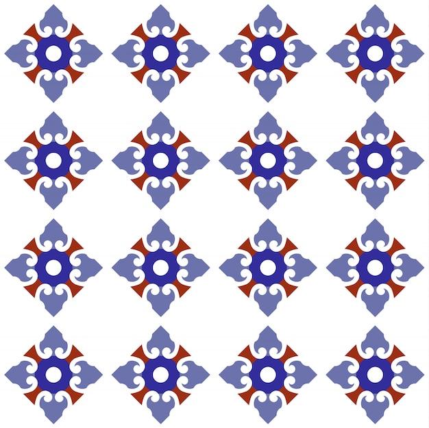 Projeto bonito em azulejo