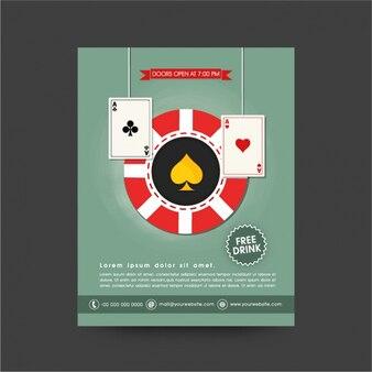 Projeto casino folheto