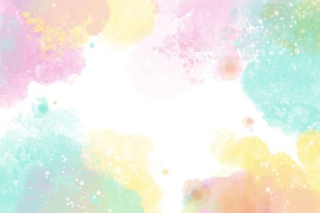 Projeto colorido de fundo aquarela