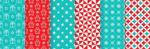 Projeto colorido de padrão sem emenda de natal